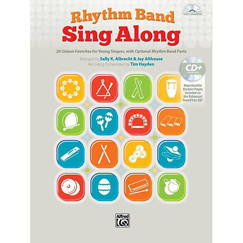 Alfred Rhythm Band Sing Along Book & CD thumbnail