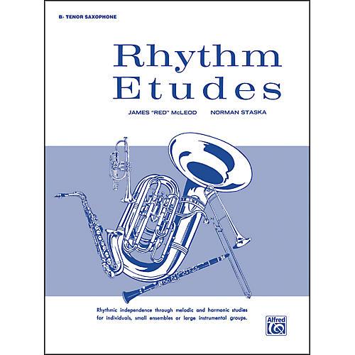 Alfred Rhythm Etudes B-Flat Tenor Saxophone-thumbnail