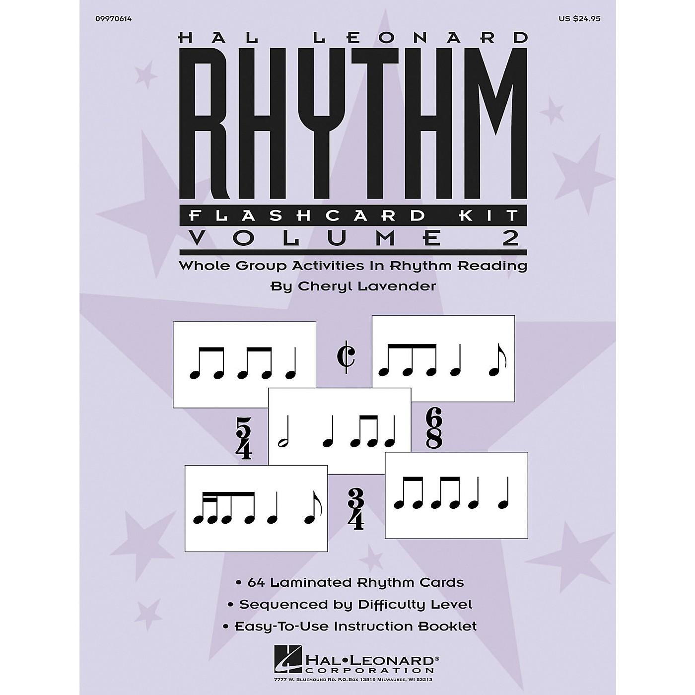 Hal Leonard Rhythm Flashcard Kit Vol. 2 thumbnail