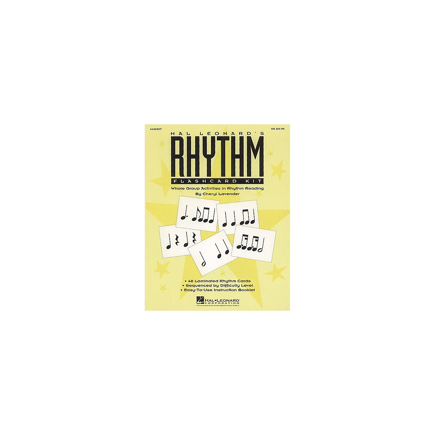 Hal Leonard Rhythm Flashcard Kit thumbnail