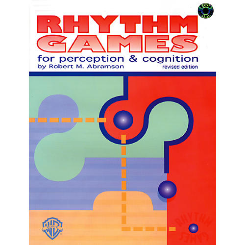 Alfred Rhythm Games for Perception & Cognition (Revised) Book & 2 CDs-thumbnail