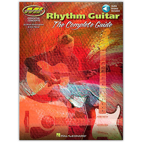 Hal Leonard Rhythm Guitar - The Complete Guide from Musicians Institute Series Book/Online Audio thumbnail
