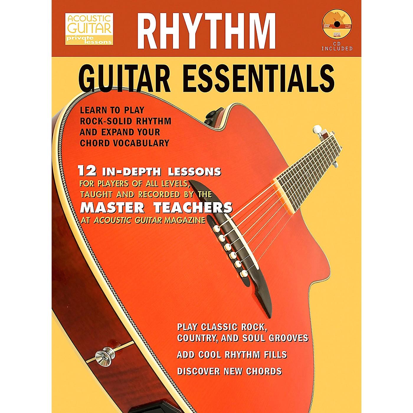Hal Leonard Rhythm Guitar Essentials (Book/CD) thumbnail