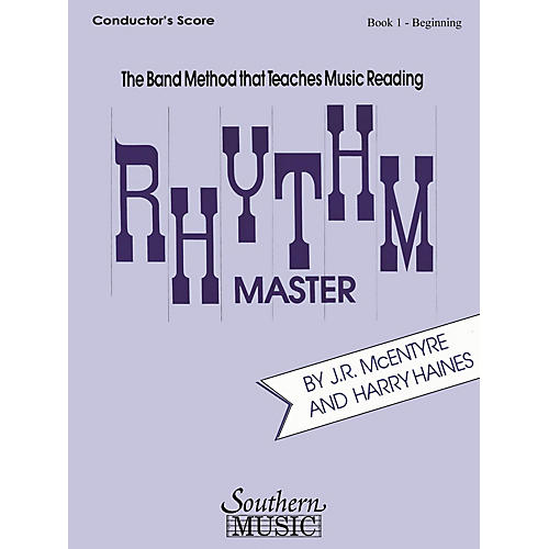 Southern Rhythm Master - Book 1 (Beginner) (Baritone B.C.) Southern Music Series Composed by Harry Haines thumbnail