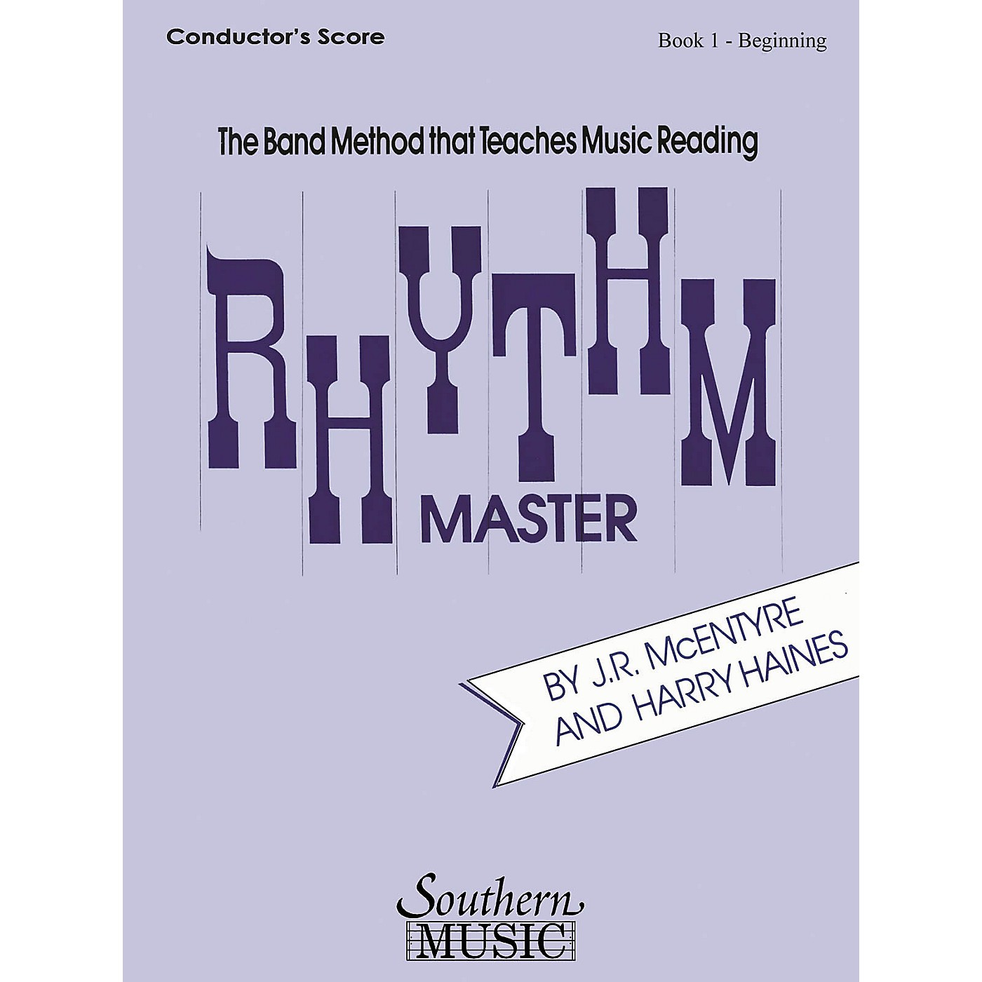 Southern Rhythm Master - Book 1 (Beginner) (Tenor Saxophone) Southern Music Series  by Harry Haines thumbnail