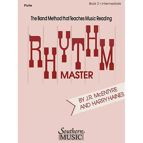 Southern Rhythm Master - Book 2 (Intermediate) (Baritone B.C.) Southern Music Series Composed by Harry Haines thumbnail