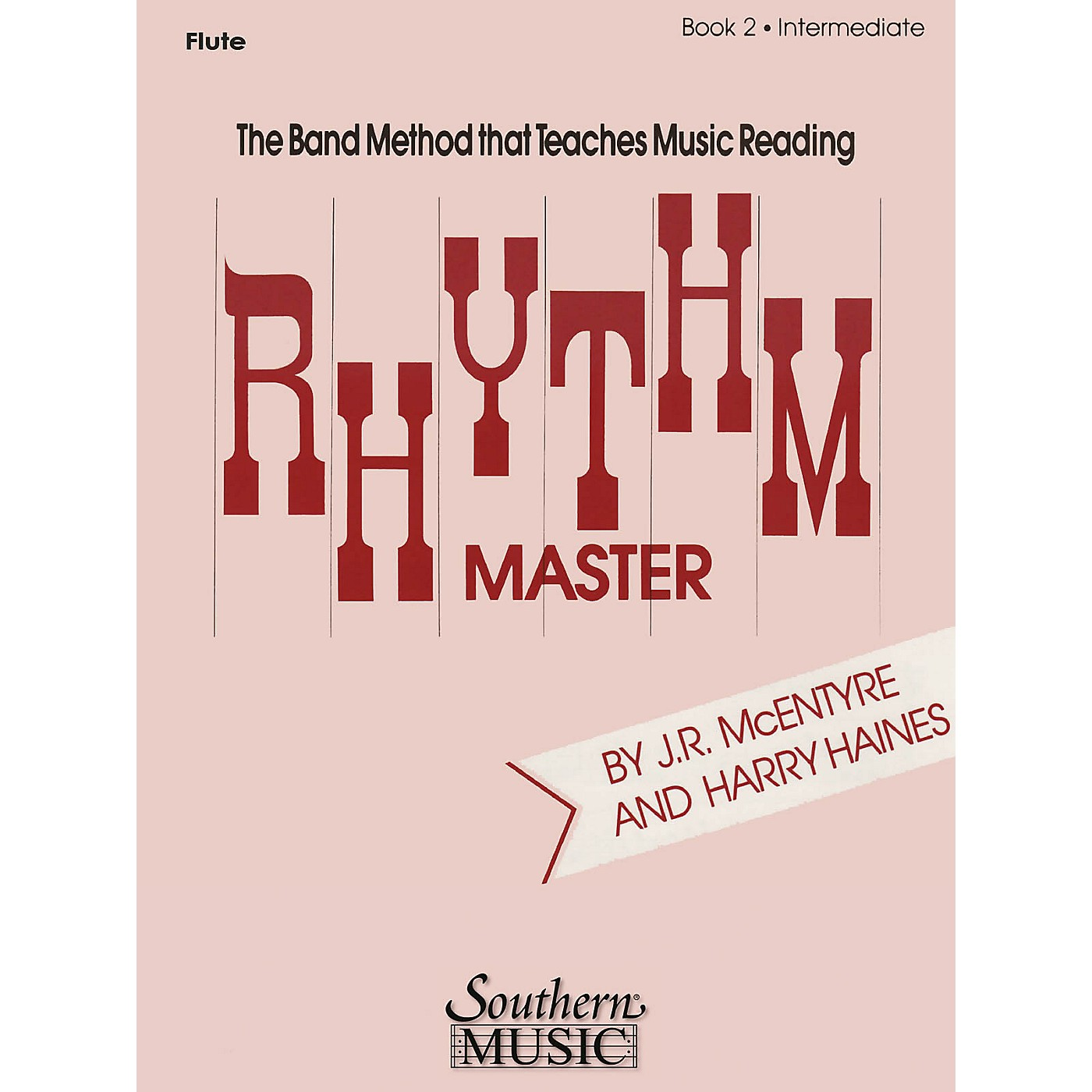 Southern Rhythm Master - Book 2 (Intermediate) (Tenor Saxophone) Southern Music Series  by Harry Haines thumbnail