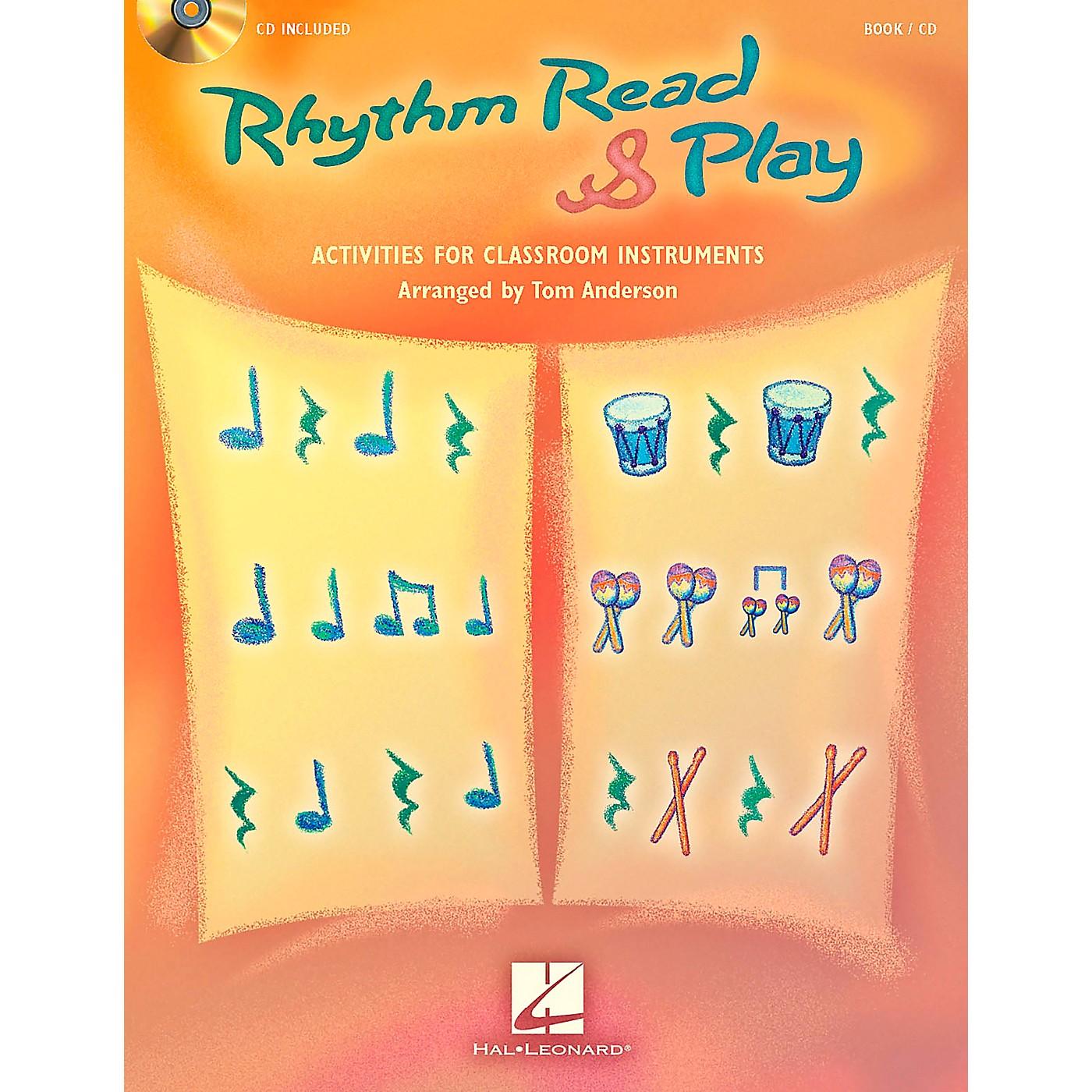 Hal Leonard Rhythm Read & Play - Activities for Classroom Instruments Book/CD thumbnail