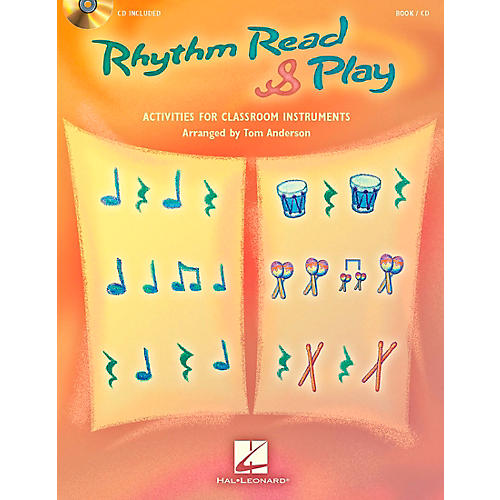 Hal Leonard Rhythm Read & Play - Activities for Classroom Instruments Book/CD thumbnail