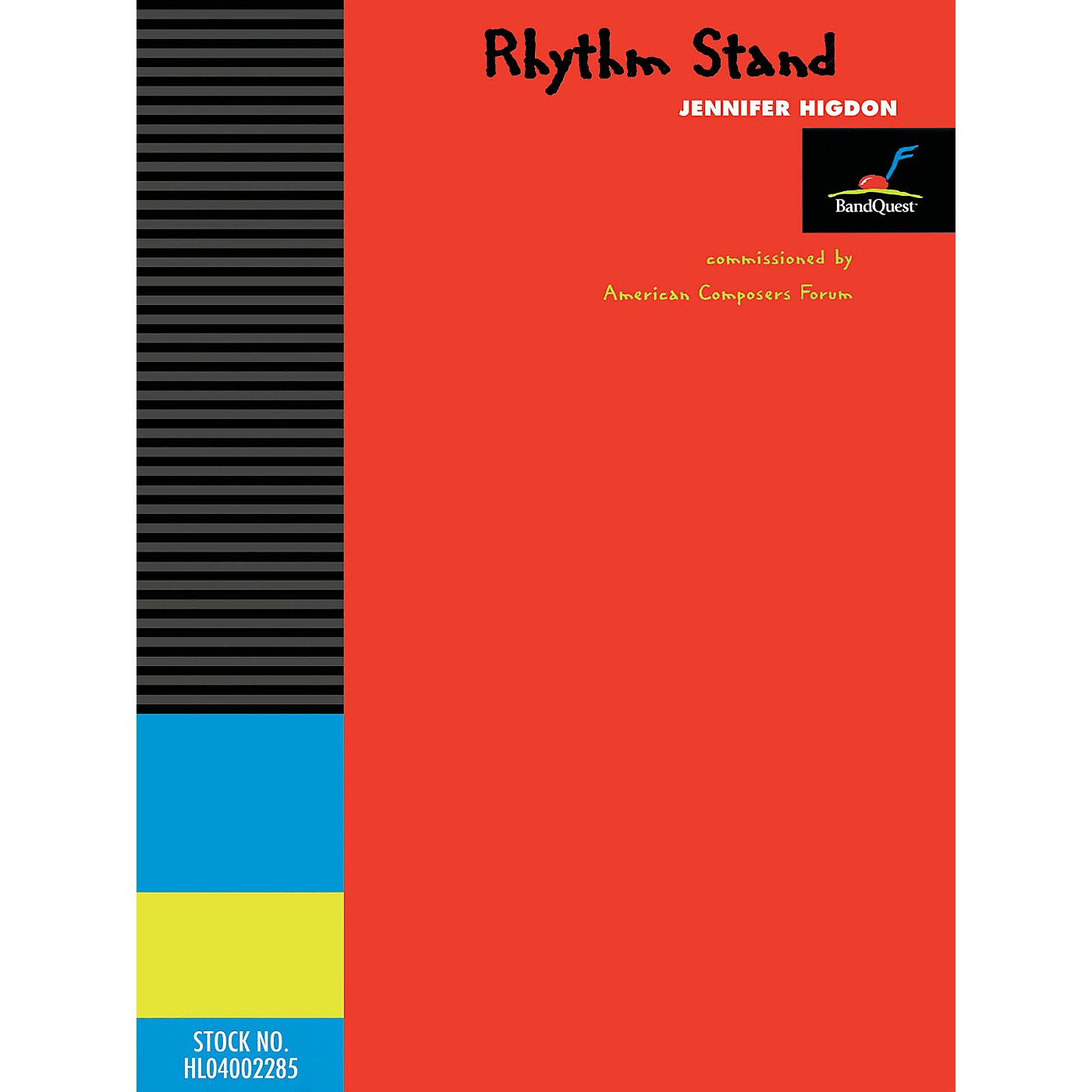 American Composers Forum Rhythm Stand (Score Only) (BandQuest Series Grade 3) Concert Band Level 3 Composed by Jennifer Higdon thumbnail