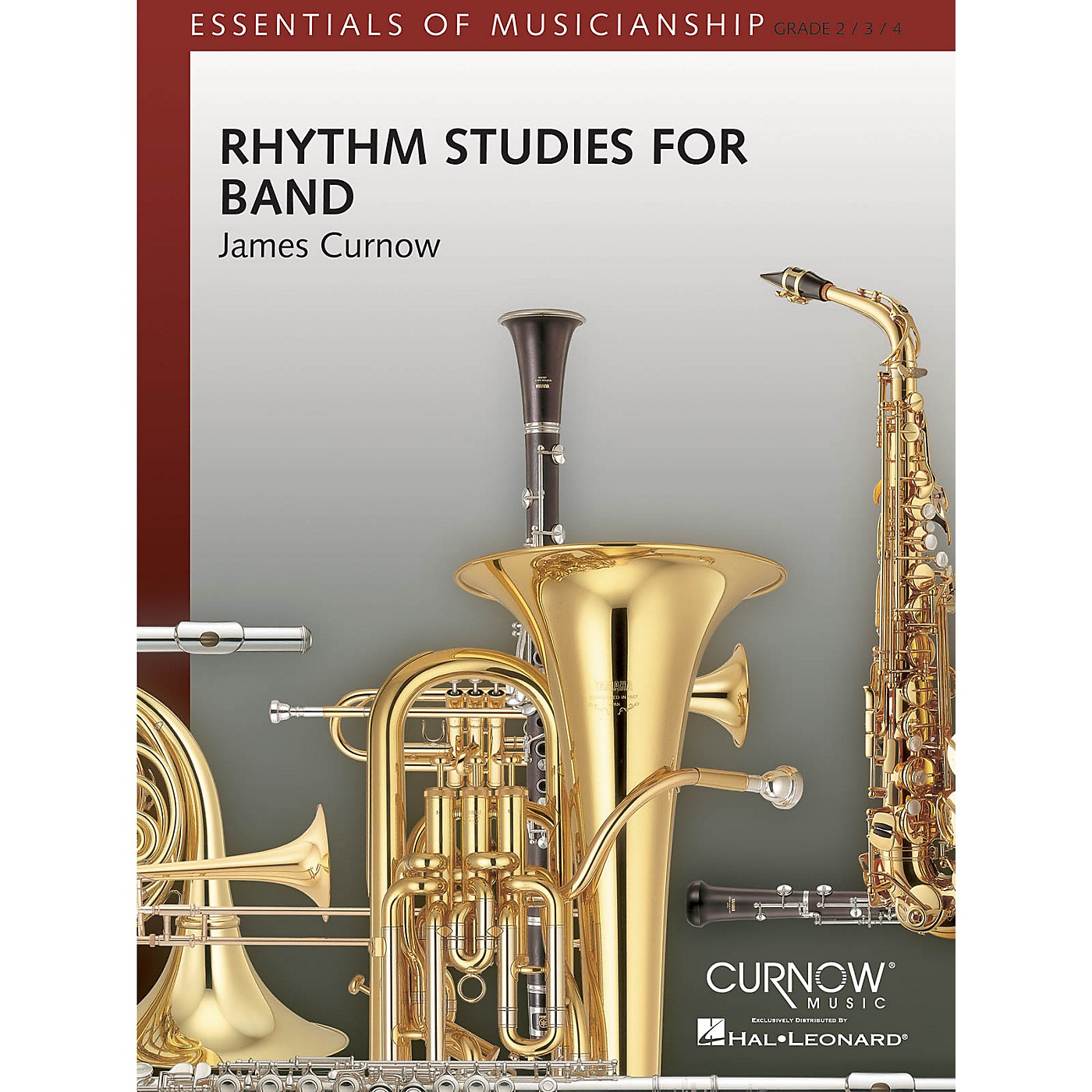 Curnow Music Rhythm Studies for Band (Grade 2 to 4 - Score Only) Concert Band Level 2-4 Composed by James Curnow thumbnail