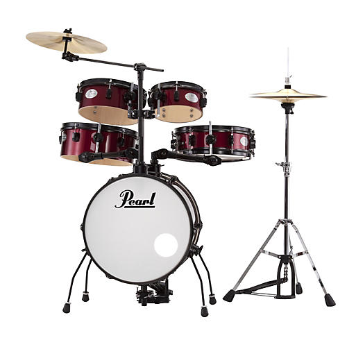 Pearl Rhythm Traveler Drum Set with Cymbals & Hardware thumbnail
