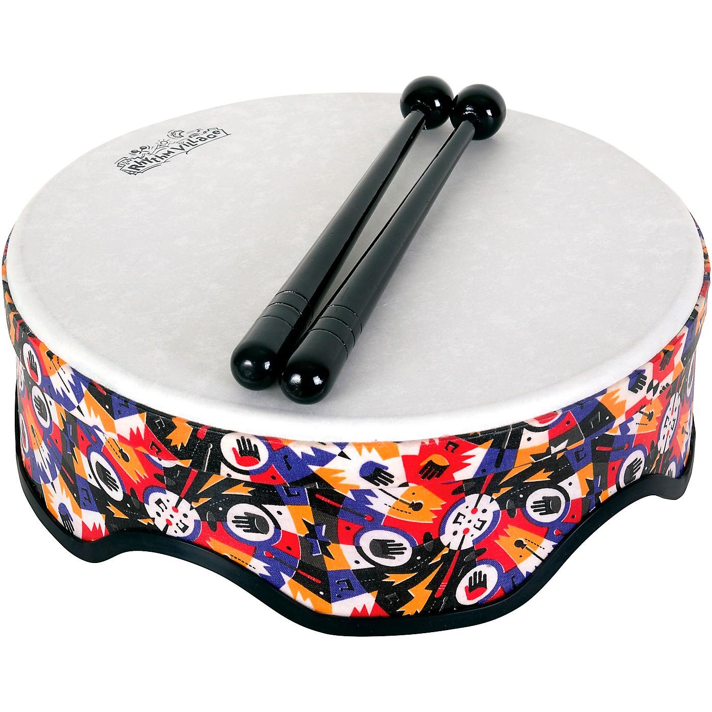 Rhythm Tech Rhythm Village Benkadi Club Series 14 in. Rally Drum with Mallets thumbnail
