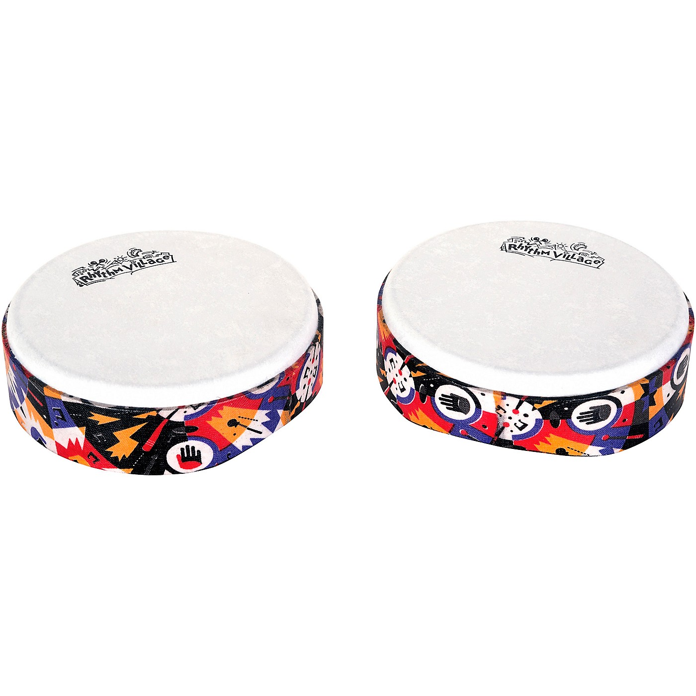 Rhythm Tech Rhythm Village Benkadi Club Series 6 in. Hand Drum thumbnail