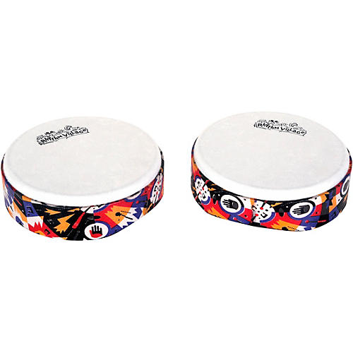 RhythmTech Rhythm Village Benkadi Club Series 6 in. Hand Drum thumbnail