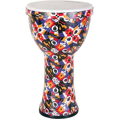 RhythmTech Rhythm Village Benkadi Club Series 9 in. Djembe thumbnail