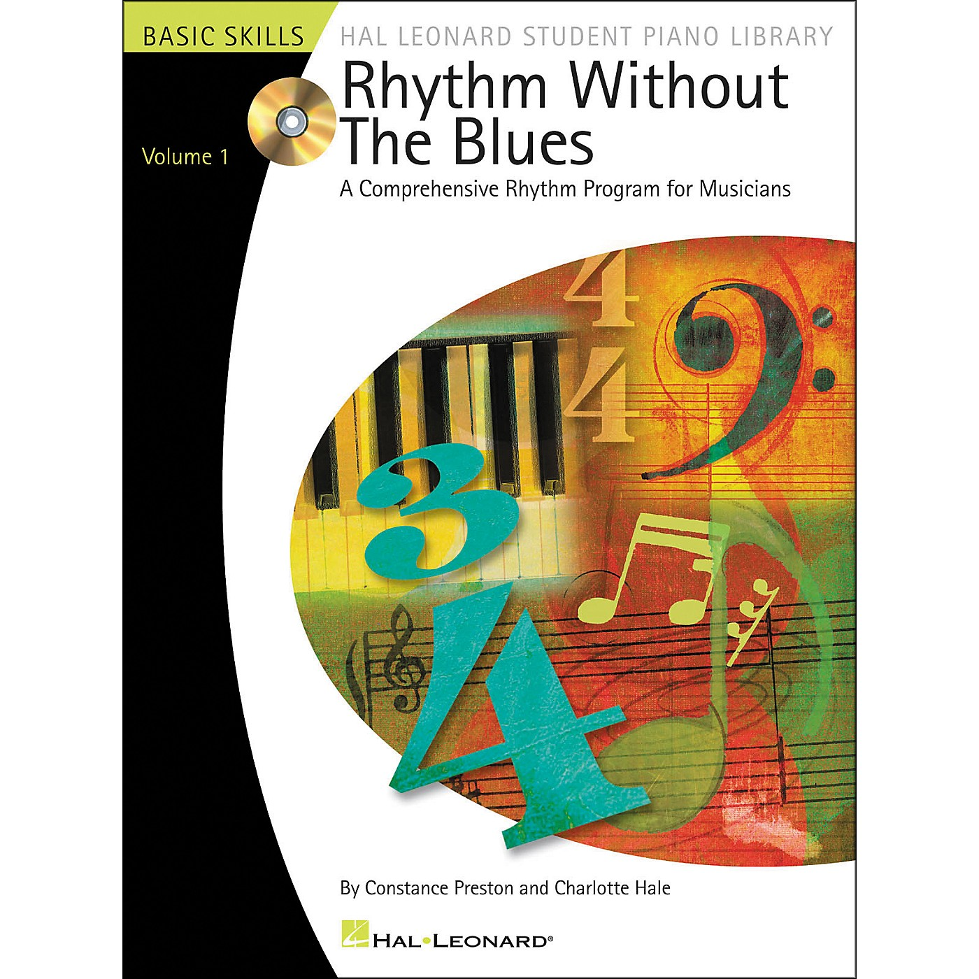Hal Leonard Rhythm Without The Blues Book/CD Volume 1 Hal Leonard Student Piano Library thumbnail