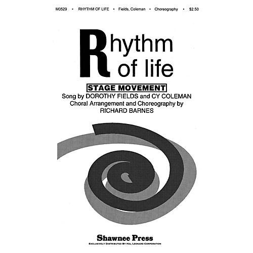 Shawnee Press Rhythm of Life TTBB Arranged by Richard Barnes thumbnail