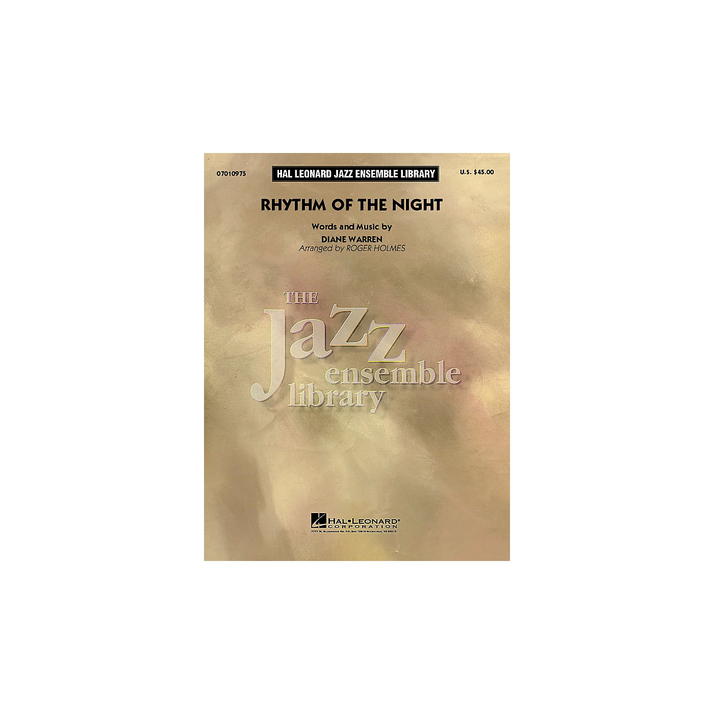Hal Leonard Rhythm of the Night Jazz Band Level 4 by DeBarge Arranged by Roger Holmes thumbnail