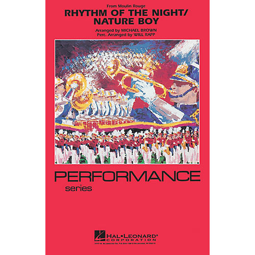 Hal Leonard Rhythm of the Night (from Moulin Rouge) Marching Band Level 4 Arranged by Michael Brown thumbnail