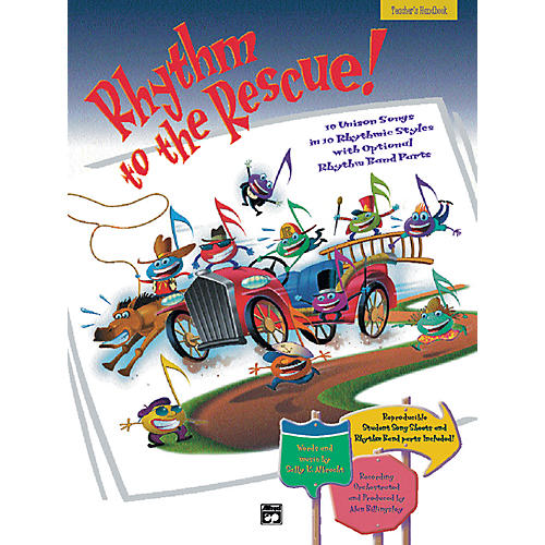 Alfred Rhythm to the Rescue! Book and CD thumbnail