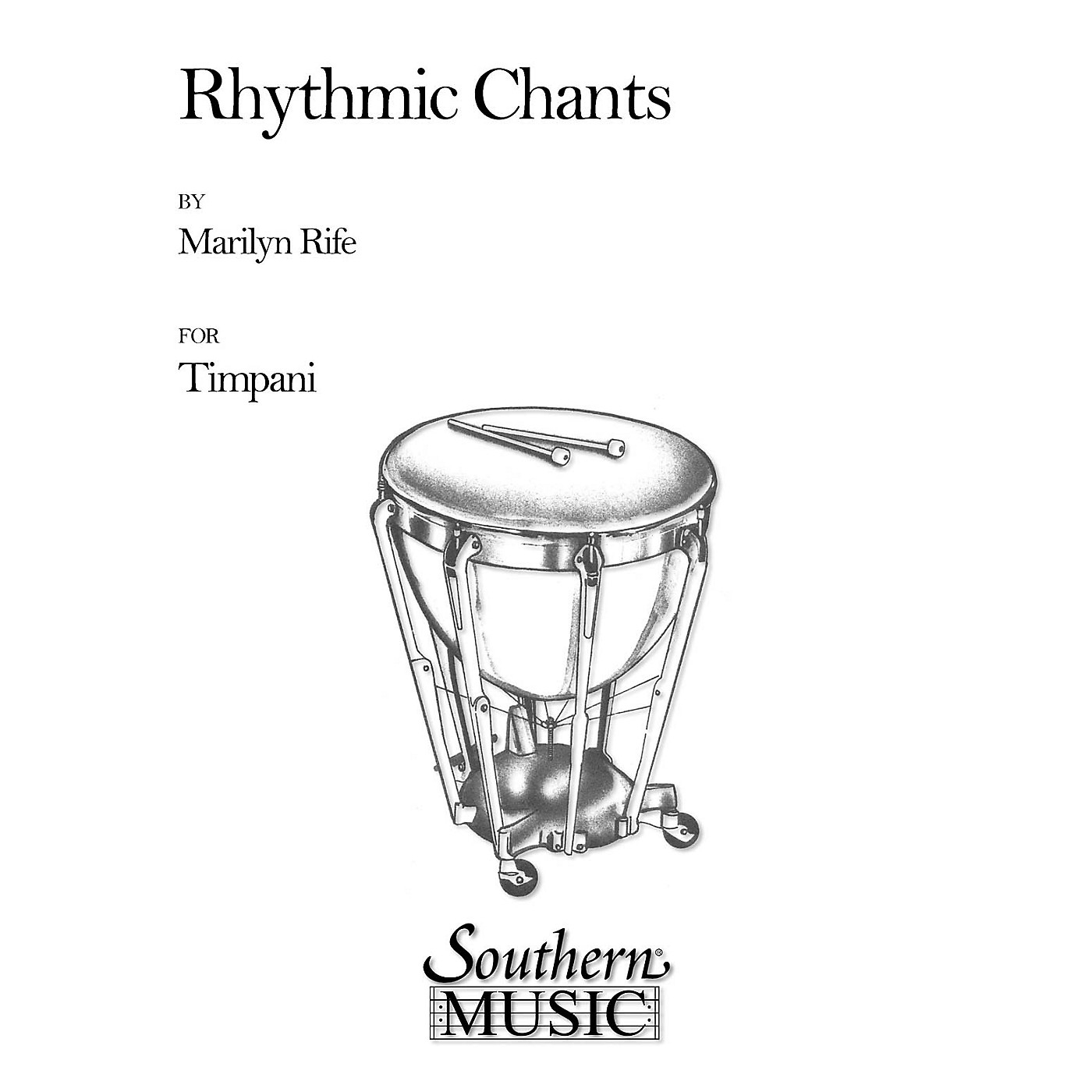 Hal Leonard Rhythmic Chants (Percussion Music/Timpani - Other Musi) Southern Music Series Composed by Rife, Marilyn thumbnail