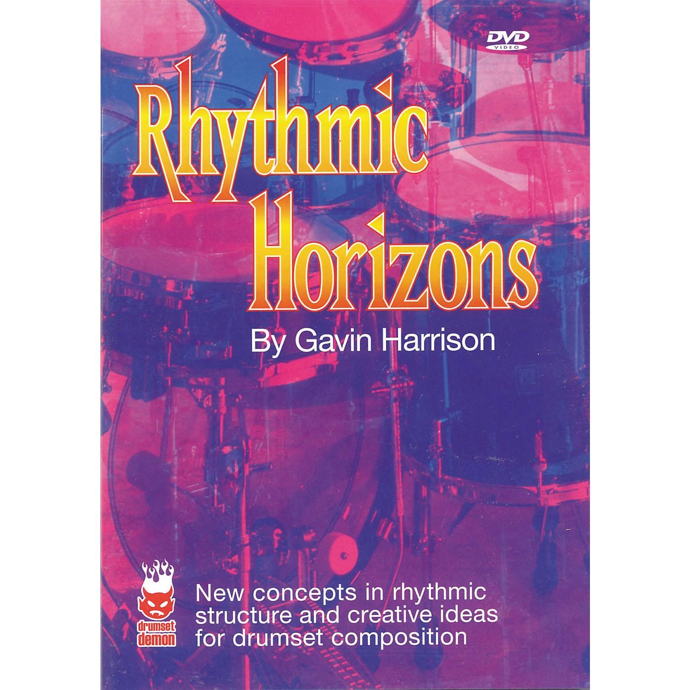 Hudson Music Rhythmic Horizons by Gavin Harrison DVD thumbnail