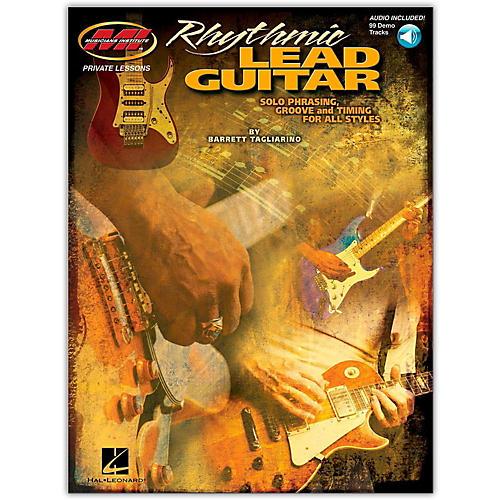 Hal Leonard Rhythmic Lead Guitar (Book/Online Audio)-thumbnail