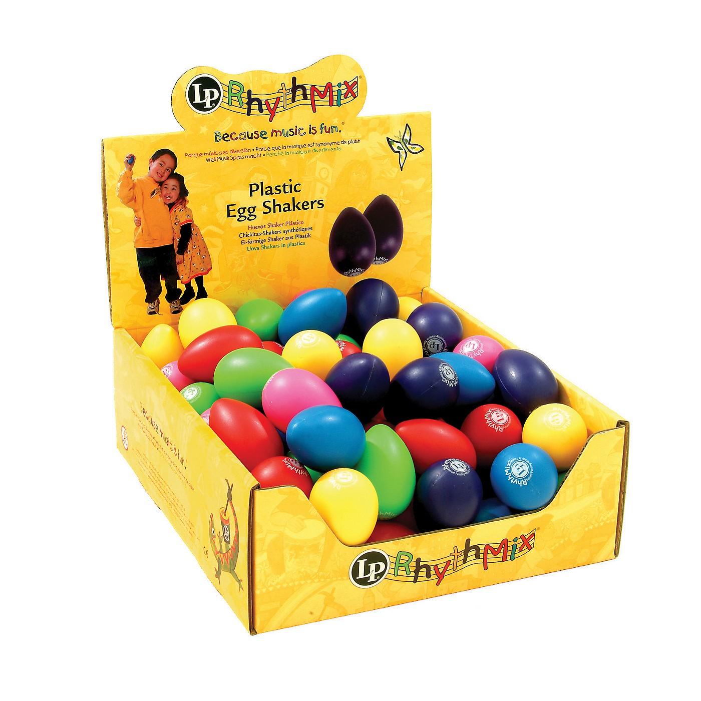LP Rhythmix Plastic Egg Shakers (48 Pack) thumbnail
