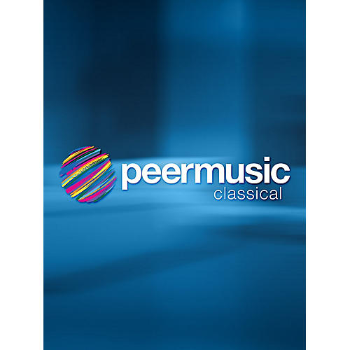 Peer Music Ricercare No. 1 (Trombone or Cello Solo) Peermusic Classical Series Softcover thumbnail