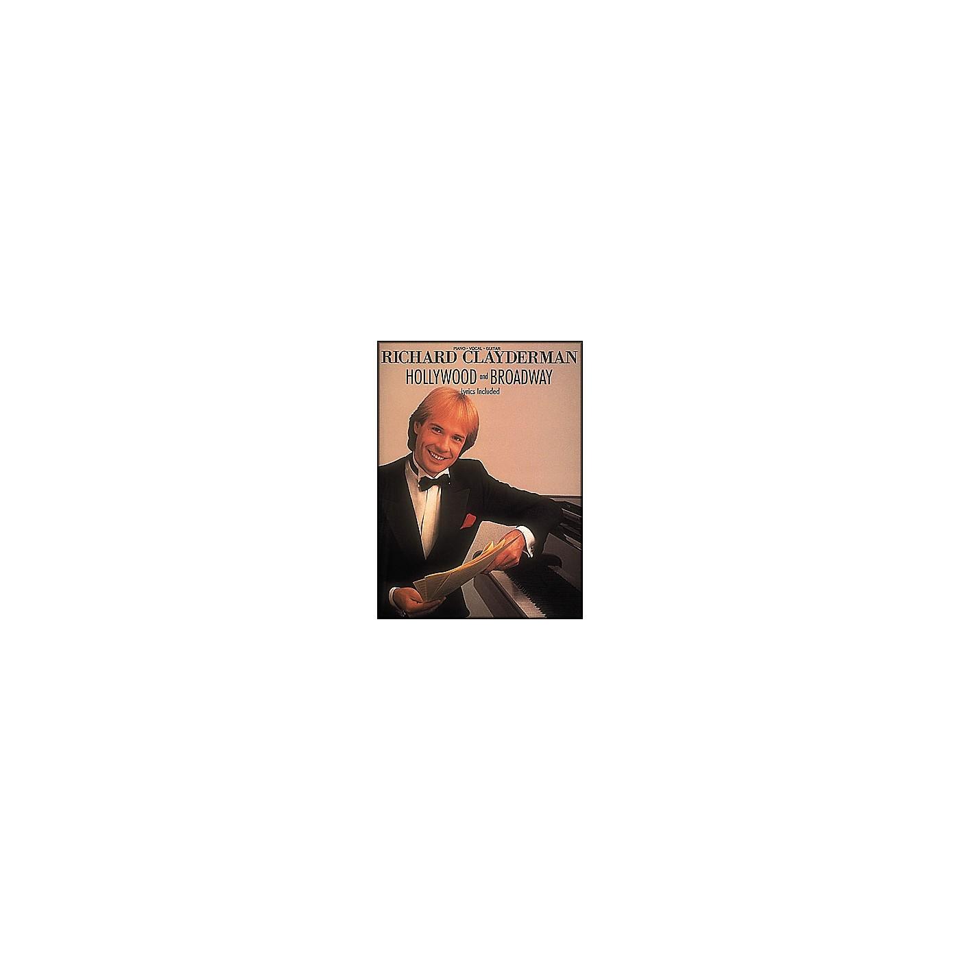 Hal Leonard Richard Clayderman - Hollywood & Broadway arranged for piano solo thumbnail