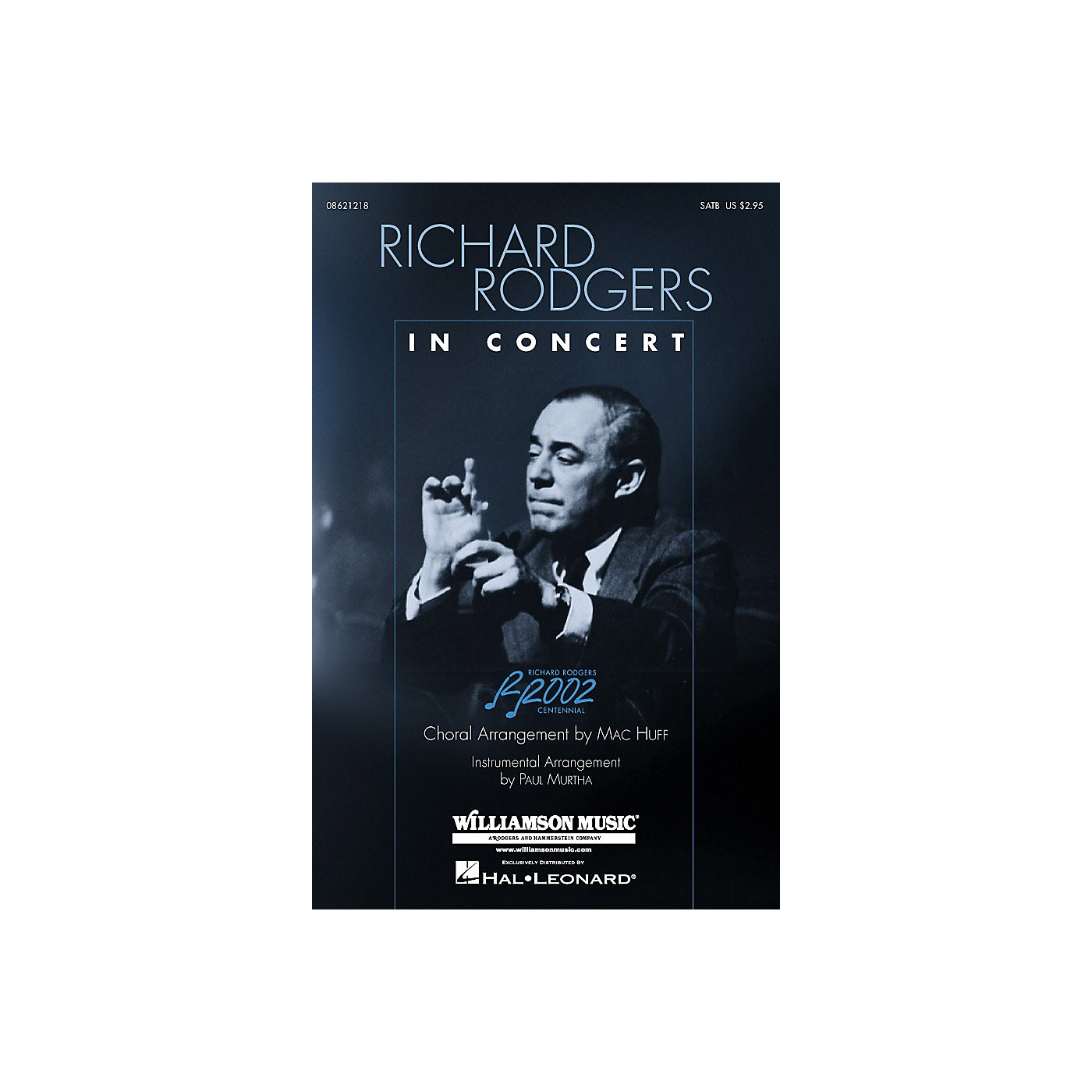 Hal Leonard Richard Rodgers in Concert (Medley) SAB Arranged by Mac Huff thumbnail