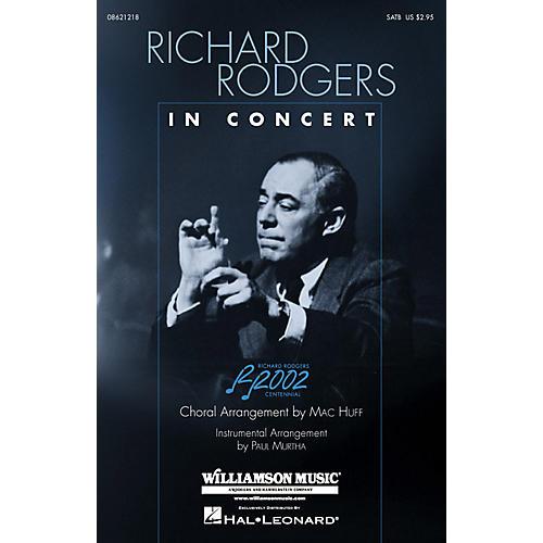 Hal Leonard Richard Rodgers in Concert (Medley) ShowTrax CD Arranged by Mac Huff thumbnail