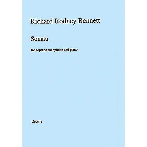 Music Sales Richard Rodney Bennett: Sonata for Soprano Saxophone and Piano Music Sales America Series thumbnail