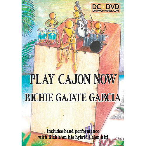 The Drum Channel Richie Gajate-Garcia - Play the Cajon DVD thumbnail