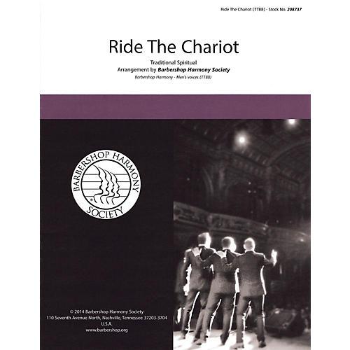 Hal Leonard Ride the Chariot TTBB A Cappella thumbnail