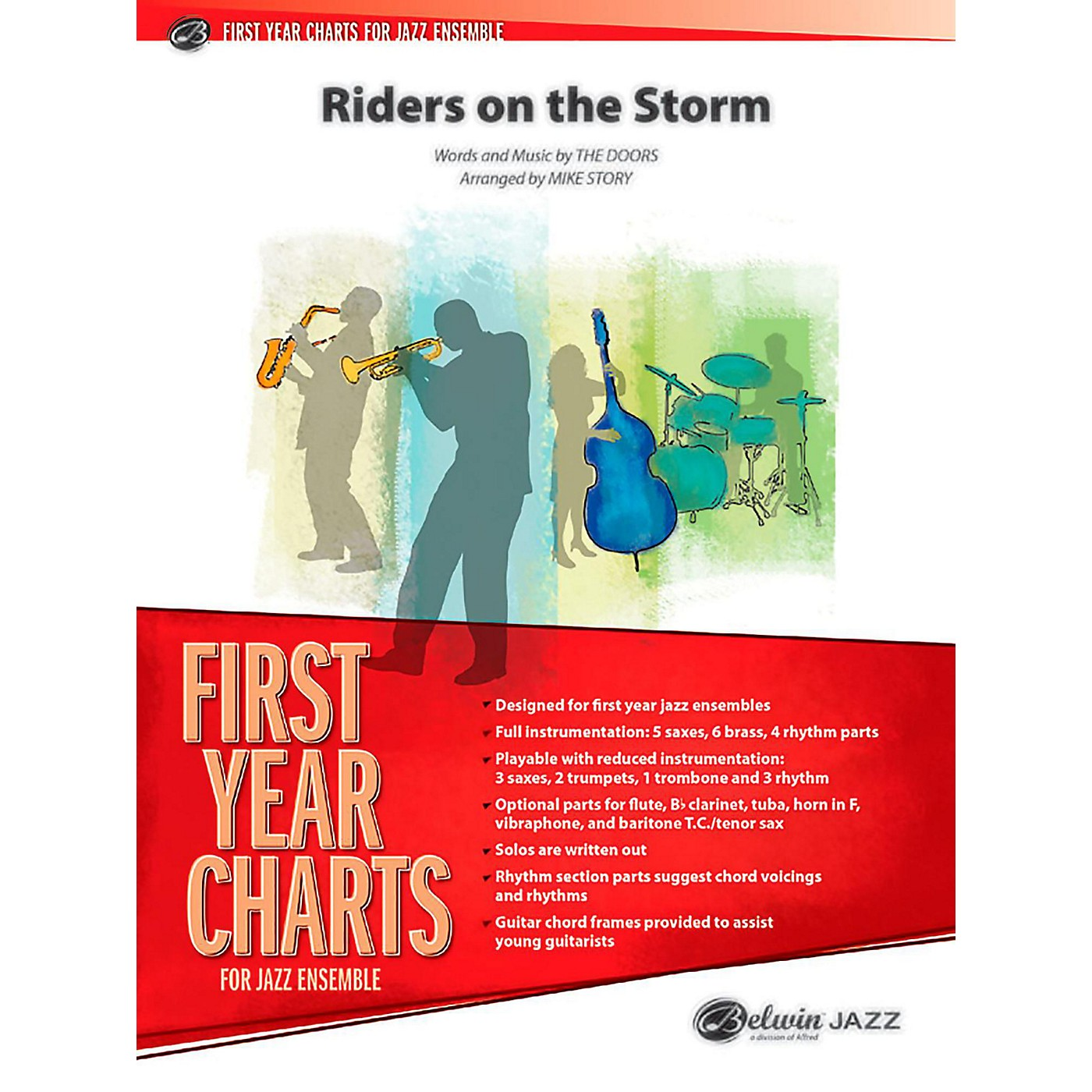 BELWIN Riders on the Storm Jazz Ensemble Grade 1 (Easy) thumbnail