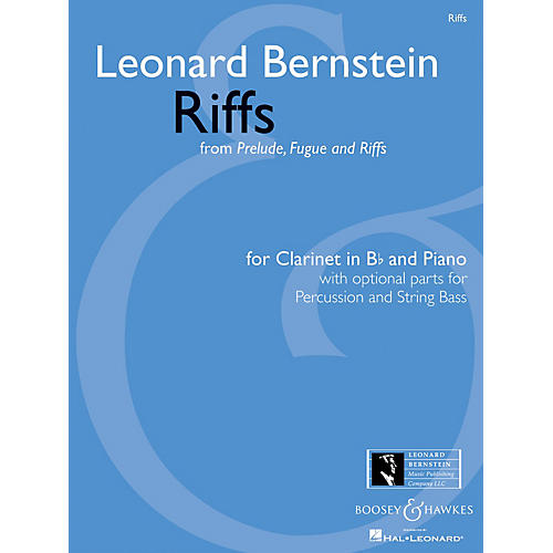 Boosey and Hawkes Riffs Boosey & Hawkes Chamber Music Softcover Composed by Leonard Bernstein Arranged by Scott Eyerly thumbnail