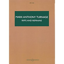 Boosey and Hawkes Riffs and Refrains Boosey & Hawkes Scores/Books Series Composed by Mark-Anthony Turnage