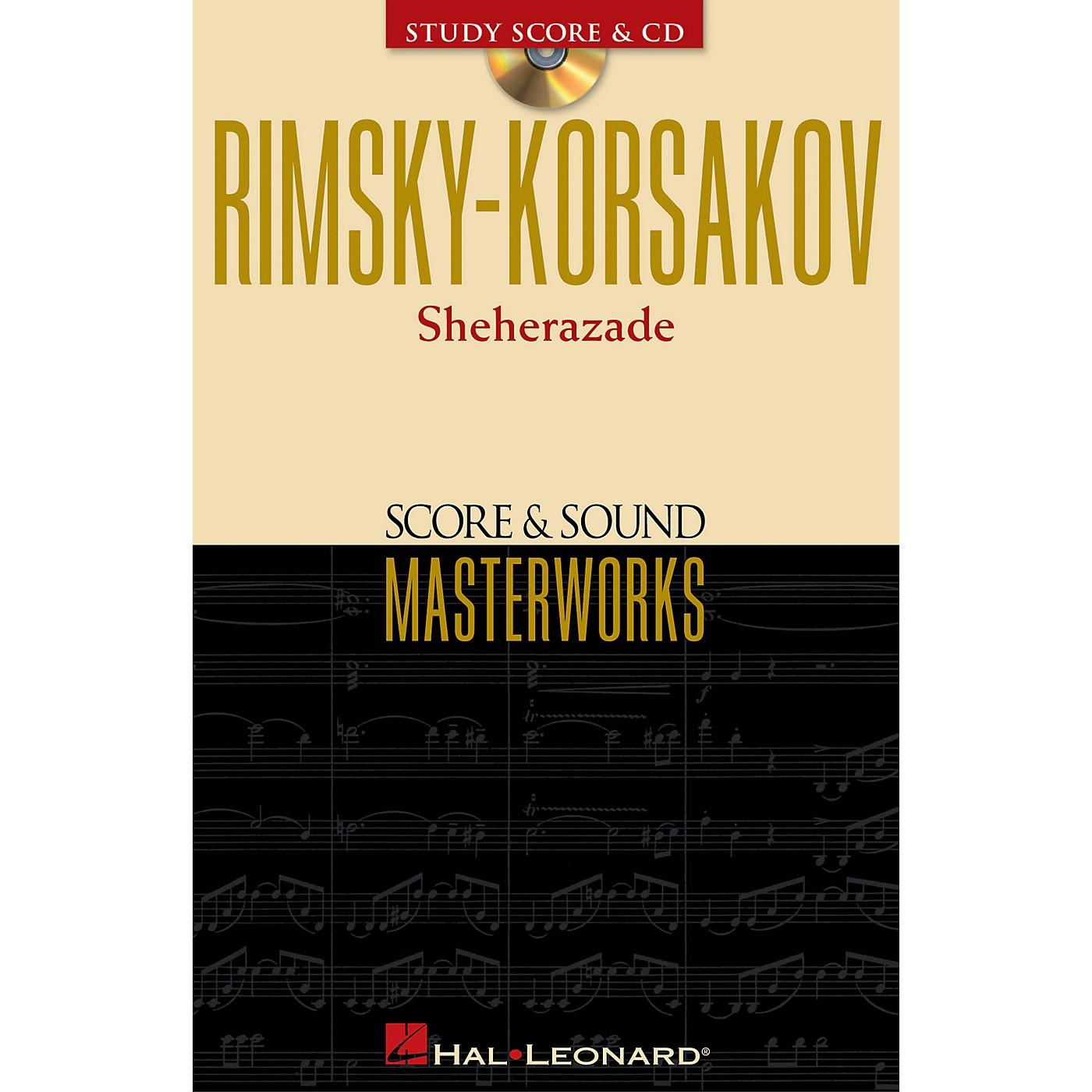 Hal Leonard Rimsky-Korsakov - Sheherazade Study Score with CD Series Softcover with CD by Nikolai Rimsky-Korsakov thumbnail