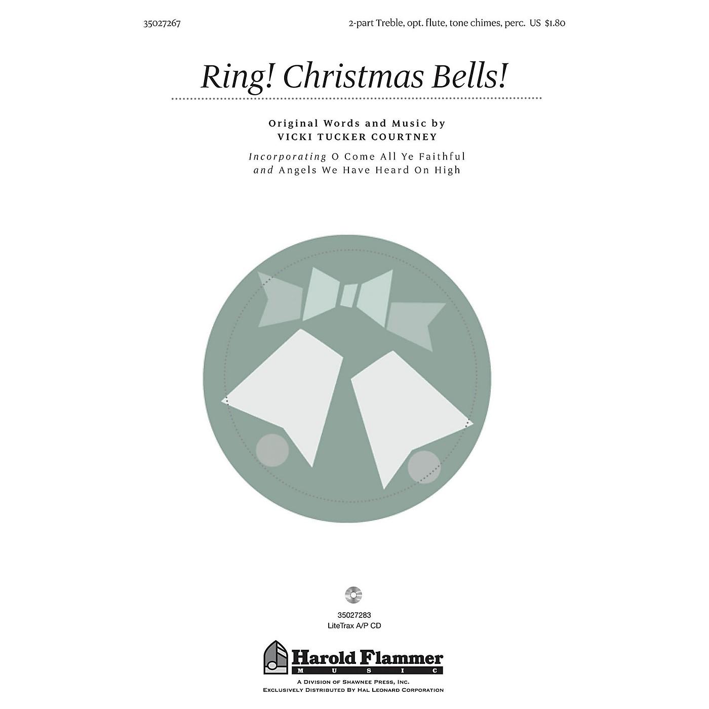Shawnee Press Ring! Christmas Bells! 2PT TREBLE composed by Vicki Tucker Courtney thumbnail