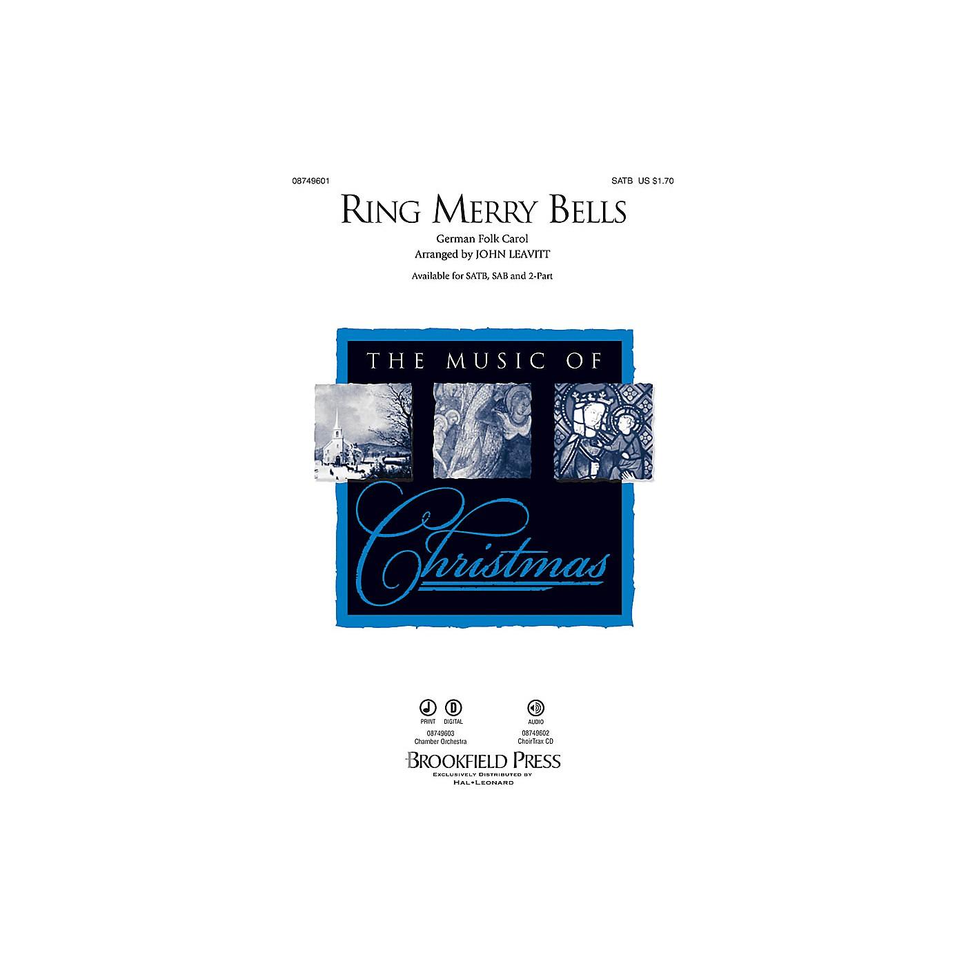 Brookfield Ring Merry Bells SATB arranged by John Leavitt thumbnail