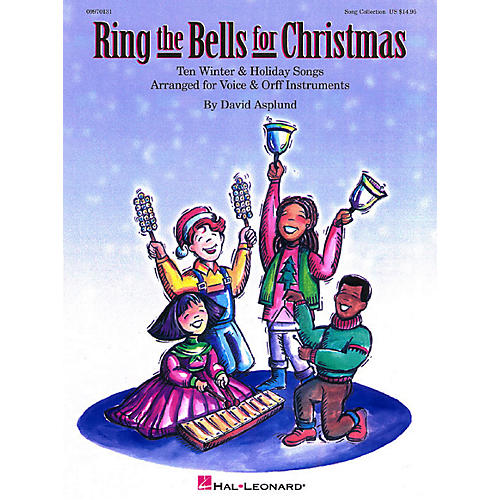Hal Leonard Ring The Bells For Christmas Song Collection Teacher's Edition for Voice and Orff thumbnail