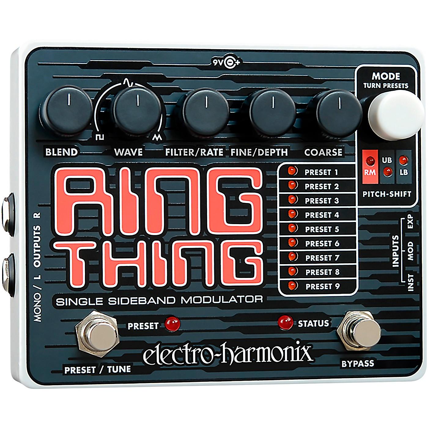 Electro-Harmonix Ring Thing Modulator Guitar Effects Pedal thumbnail