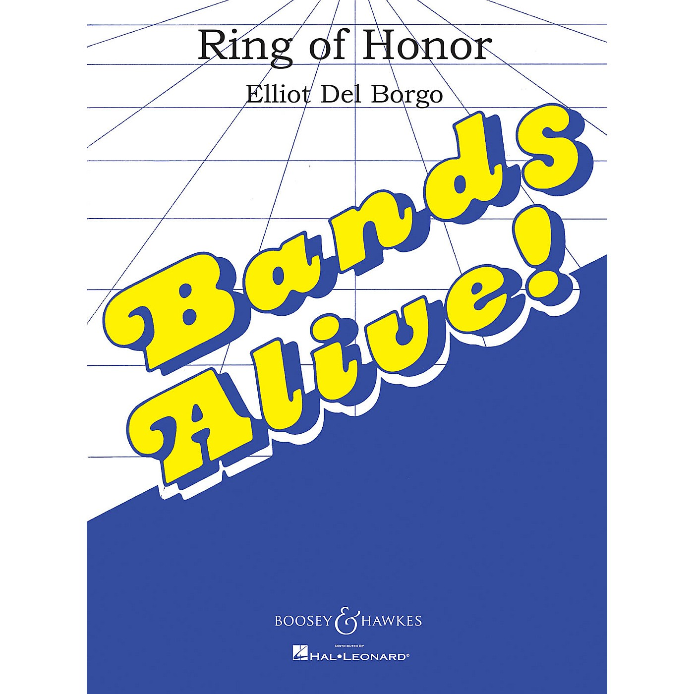 Boosey and Hawkes Ring of Honor (Full Score) Concert Band Composed by Elliot Del Borgo thumbnail