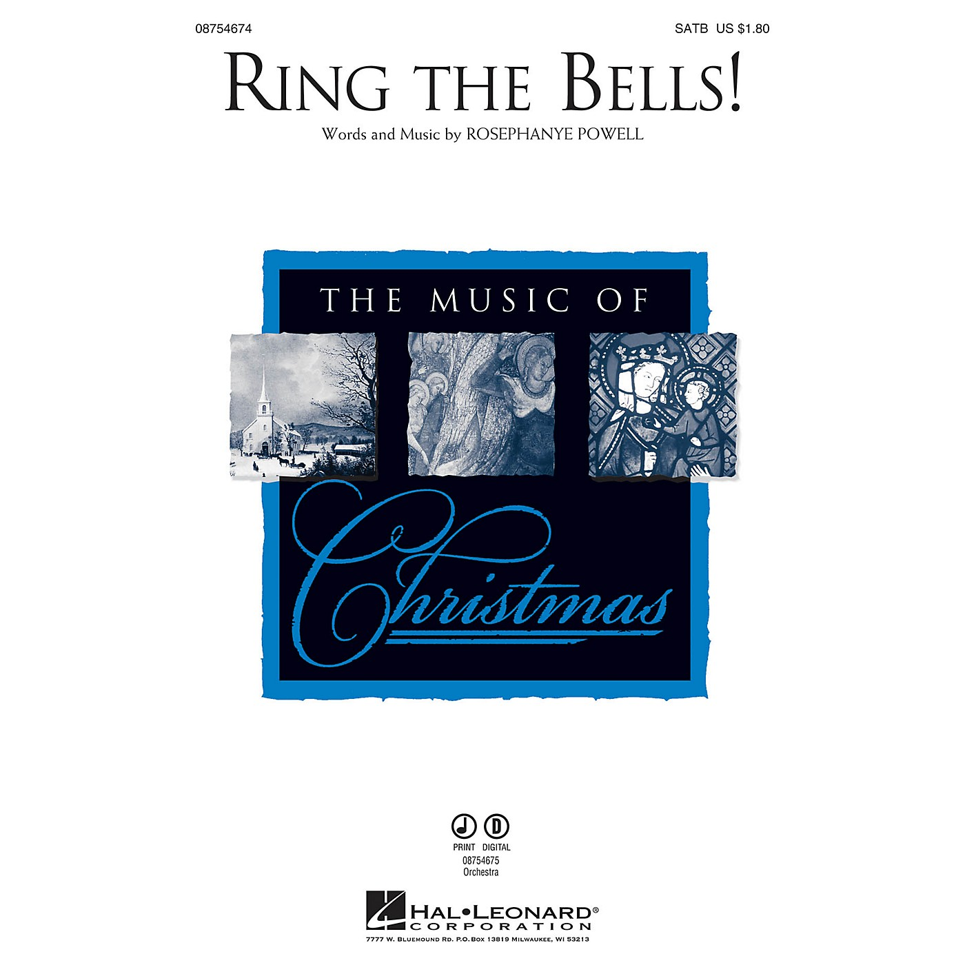 Hal Leonard Ring the Bells! SATB composed by Rosephanye Powell thumbnail