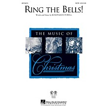 Hal Leonard Ring the Bells! SATB composed by Rosephanye Powell