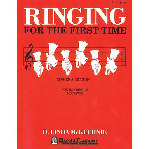 Shawnee Press Ringing for the First Time Handbell Method (3 Octaves of Handbells) HANDBELLS (2-3) by D. L. McKechnie thumbnail