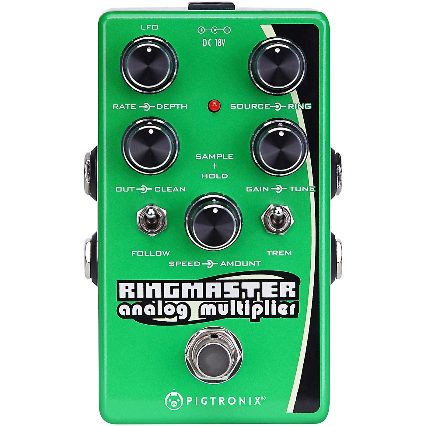 Pigtronix Ringmaster Ring Modulator Analog Multiplier Effects Pedal thumbnail