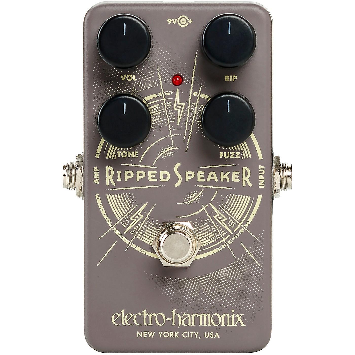 Electro-Harmonix Ripped Speaker Fuzz Effects Pedal thumbnail
